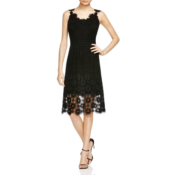 2f53850379 Elie Tahari Dresses   Skirts - NWOT Elie Tahari Black Lace Midi Sleeveless  Dress